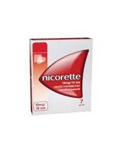 Nicorette*7 Cerotti Transd 10 Mg/16 Ore