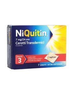 Niquitin*7 Cerotti Transd 7 Mg/die