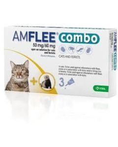 Amflee Combo*spot-on Soluz 3 Pipette 0,5 ml 50 mg + 60 mg Gatti e Furetti