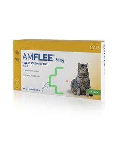Amflee*spot-on Soluz 3 Pipette 0,5 ml 50 mg Gatti