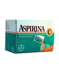 Aspirina*con Vitamina c 10 Bust Grat Eff 400 mg + 240 mg