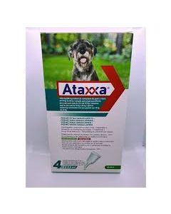 Ataxxa Spot-on*soluz 4 Pipette 2,5 ml 1.250 mg + 250 mg Canida 10 a 25 kg