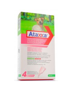 Ataxxa Spot-on*soluz 4 Pipette 1 ml 500 mg + 100 mg Cani Da4 a 10 kg
