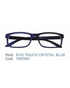 Occhiale da Lettura Premontato Iristyle Evo Touch Crystal Blue 3,5