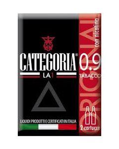 Categoria La1 3 Cartucce or Tabacco 0,9 con Nicotina