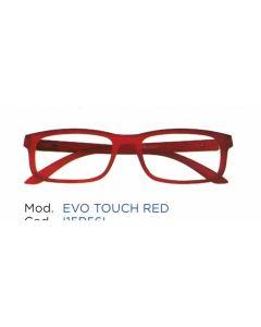 Occhiale da Lettura Premontato Iristyle Evo Touch Red 1,0