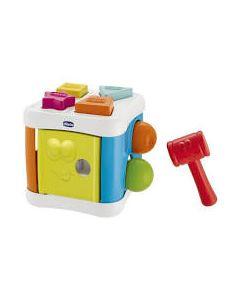 Chicco Gioco 2 in 1 Cubo Incastra & Martella