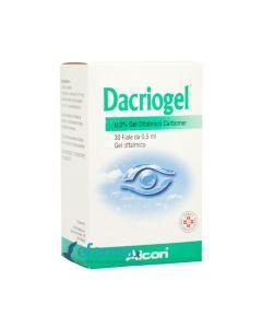 Dacriogel*gel Oftalmico 30 Fiale 0,5 ml 0,3%