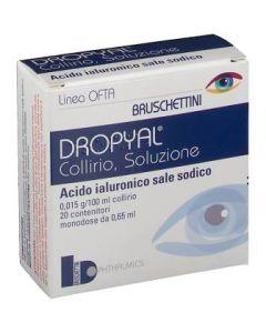 Dropyal*20 Monodosi Collirio 0,65 ml 0,015 G/100 ml
