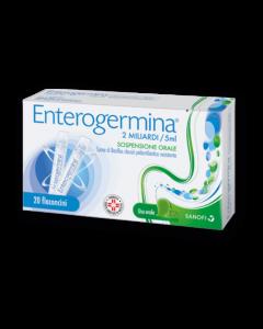 Enterogermina*orale Sosp 20 Flaconcini 2 Mld 5 ml