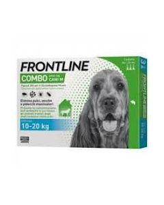 Frontline Combo Spot-on Cani M*soluz 3 Pipette 1,34 ml 134 mg + 120,6 mg Cani da 10 a 20 kg