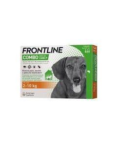 Frontline Combo Spot-on Cani P*soluz 3 Pipette 0,67 ml 67 Mg+ 60,3 mg Cani da 2 a 10 kg