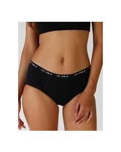 Lovable Period Panties Slip Flusso Medio Nero Taglia Extra Large