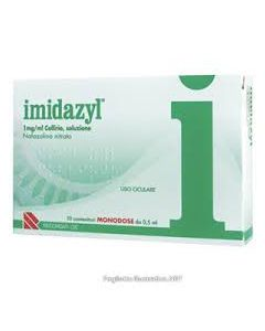 Imidazyl*10 Monod Collirio 0,5 ml 0,1%