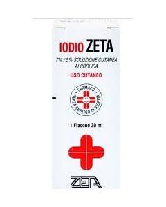 Iodio Soluzione Alcolica i (zeta Farmaceutici)*soluz Cutanea50 ml 7% + 5%