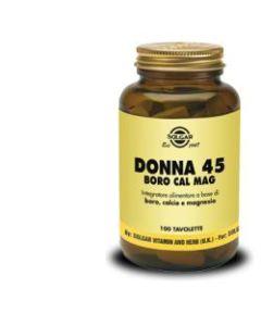 Donna 45 Boro Cal Mag 100 Tavolette