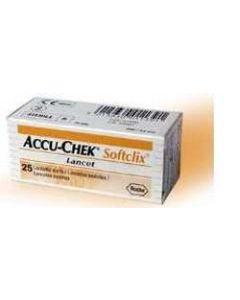 Lancette Pungidito Accu-chek Softclix 25 Pezzi