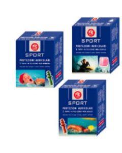 Tappo Auricolare in Silicone Pic Sport per Adulti 2 Pezzi