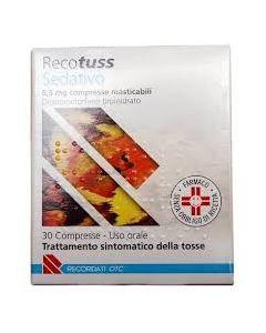 Recotuss Sedativo*30 Cpr Mast 6,5 mg