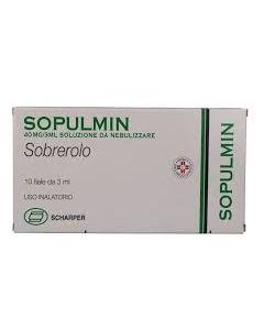 Sopulmin*soluz Nebul 10 Fiale 40 mg 3 ml