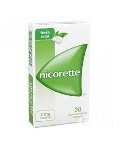 Nicorette*30 Gomme Mast 2 mg Menta Forte