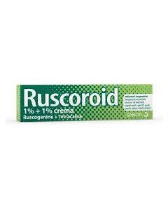 Ruscoroid*crema Rett 40 g 1% + 1%
