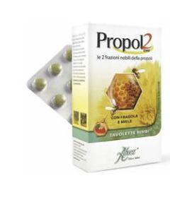 Propol2 Emf Fragola Miele 45 Tavolette per Bambini