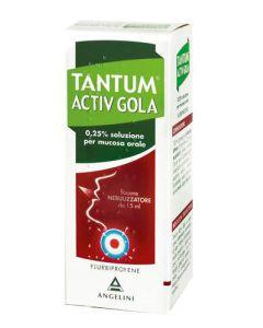 Tantum Verde Gola*spray Mucosa Orale 15 ml 250 Mg/100 ml