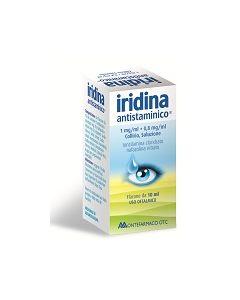 Iridina Antistaminico*collirio 10 mg + 8 mg 10 ml