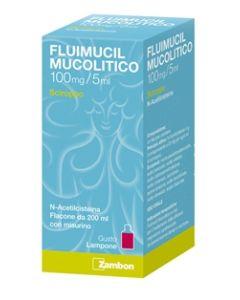 Fluimucil Mucolitico*scir 200 ml 100 Mg/5 ml