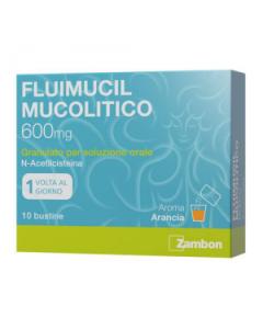 Fluimucil Mucolitico*orale Grat 10 Bust 600 mg