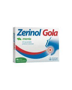 Zerinol Gola Menta*18 Pastiglie 20 mg