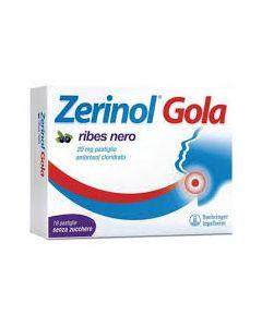 Zerinol Gola Ribes Nero*18 Pastiglie 20 mg