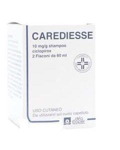 Carediesse*shampoo 2 Flaconi 60 ml 10 Mg/g