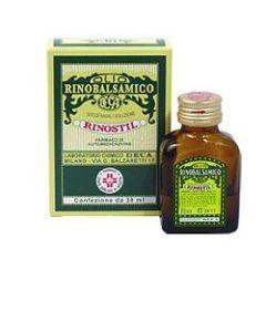 Rinostil Gocce Nasali Flacone 30ml Olio Rinobalsamico per Laprotezione della Mucosa Nasale e la Pulizia delle Fosse Nasali