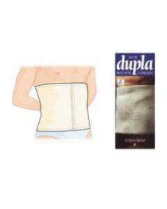 Cintura Elastica Dupla Colore Bianco Misura 4