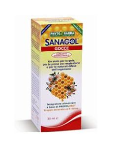 Sanagol Gocce Propoli Estratto Idroalcolico 30 ml
