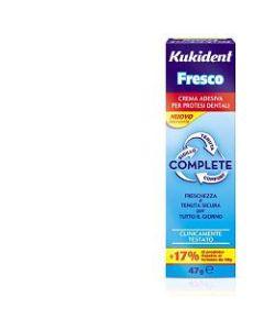 Kukident Complete Fresco Crema Adesiva per Protesi Dentarie47 g