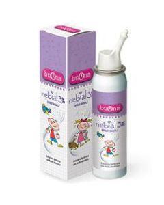 Nebial Soluzione Salina Ipertonica di Sodio Cloruro al 3% con Acido Ialuronico Spray Nasale 100 ml
