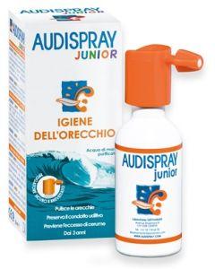 Audispray Junior Soluzione di Acqua di Mare Ipertonica Spraysenza Gas Igiene Orecchio 25ml