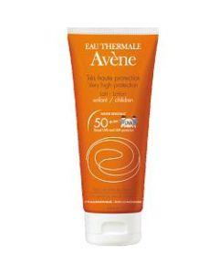 Eau Thermale Avene Latte Solare Spf 50+ Bambino 100 ml