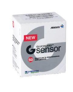 Strisce Misurazione Glicemia Glucocard g Sensor 50 Pezzi