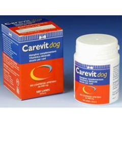 Carevit Dog Flacone 100 Compresse Appetibili