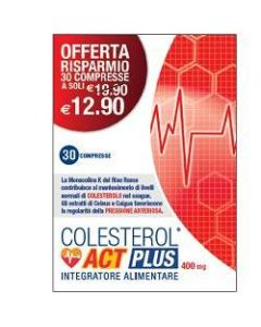 Colesterol Act Plus 30 Compresse