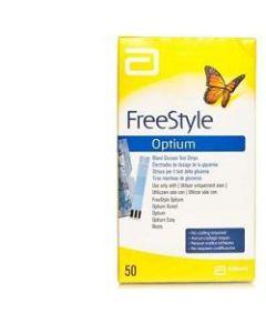 Strisce Misurazione Glicemia Freestyle Optium Test Strips 25pezzi