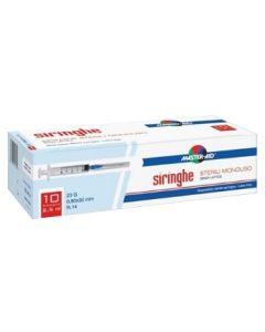 Siringa per Venipuntura Master-aid 10 ml Gauge 21 10 Pezzi
