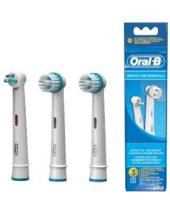 Oralb Orthocare Essentials 3 Pezzi