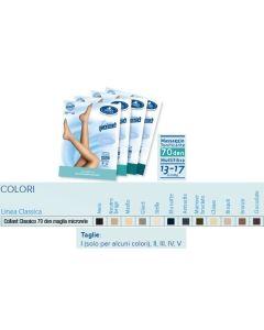 Sauber Collant 70 Denari Maglia Microrete Antracite 2 Lineaclassica