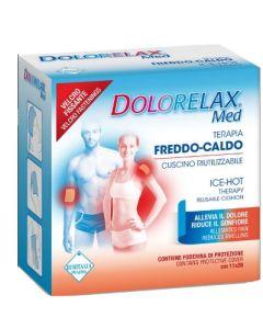 Ice Hot Dolorelax Cuscino Riutilizzabile con Velcro Fissante11x26 cm