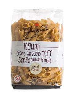 Garofalo Pennoni Pasta Senza Glutine Legumi e Cereali 400 g
